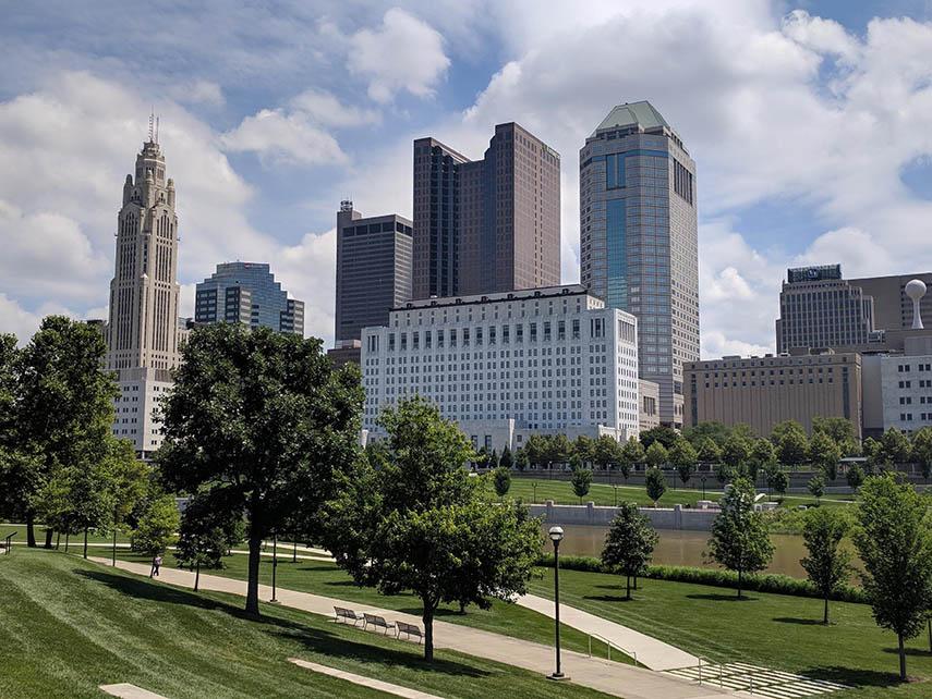 Image of Downtown Columbus Ohio