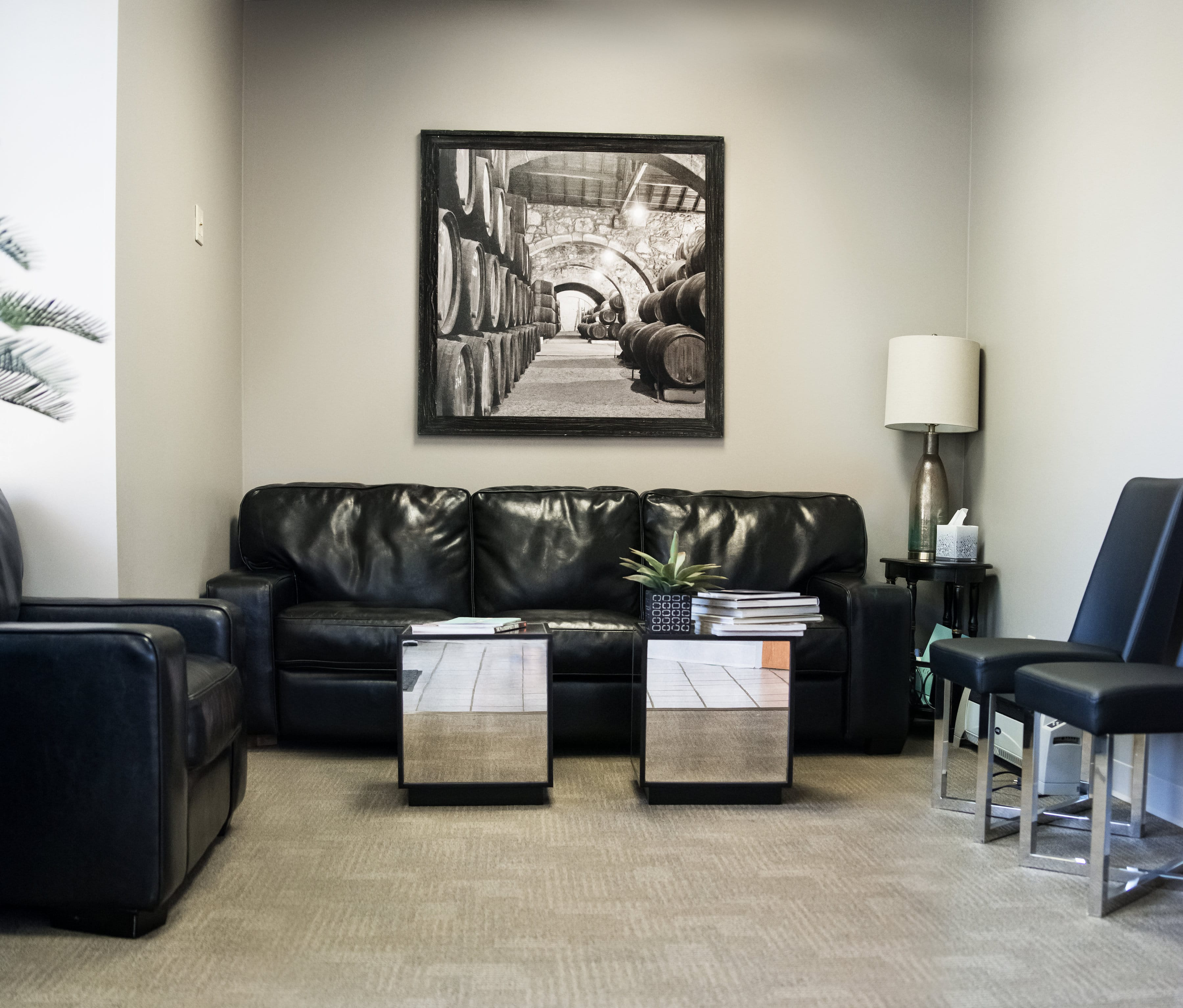 Stoner Periodontic Specialists - Chillicothe, OH - Interior Waiting Area